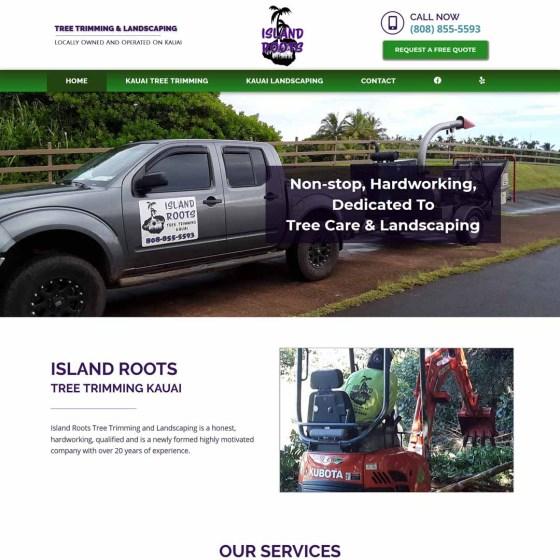 Tree Trimming & Landscaping Kauai Website