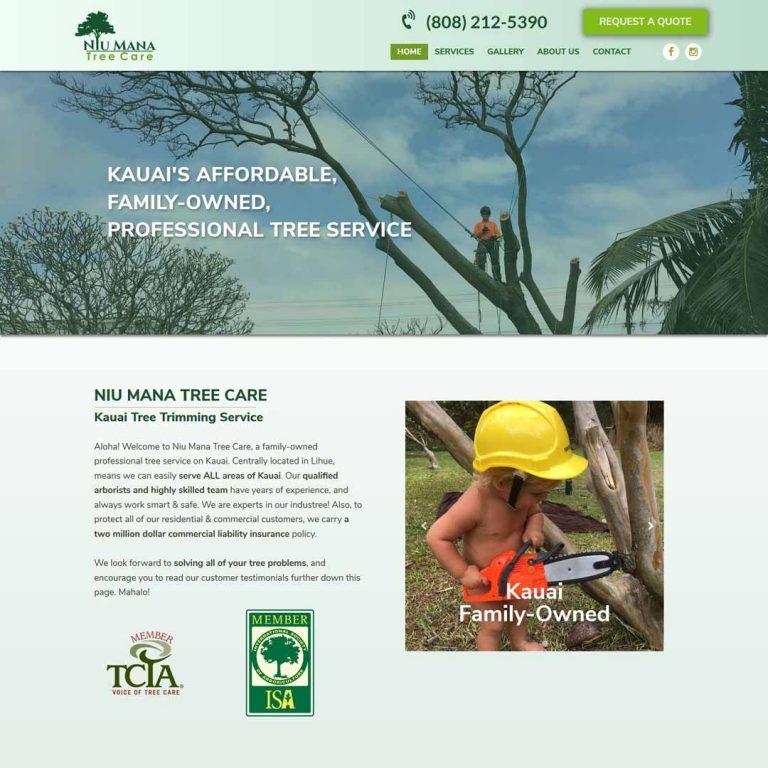 Kauai Tree Trimming Website