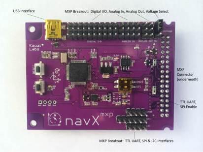 navX-MXP Robotics Navigation Controller