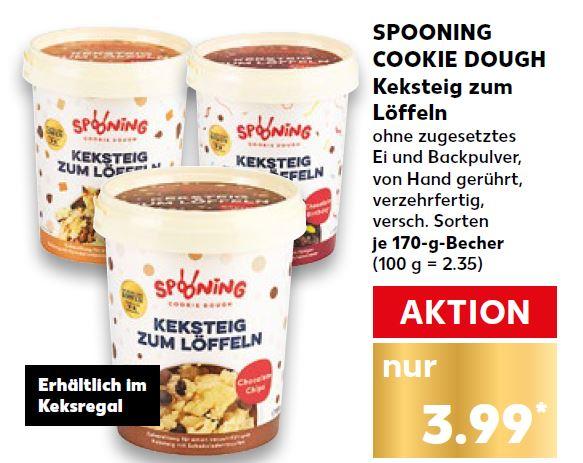 Spooning Cookie Dough Keksteig Zum Loffeln Bei Kaufland Im Angebot