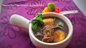 nigerian Beef Peppersoup