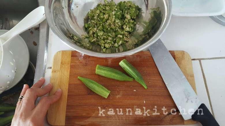 White okro soup