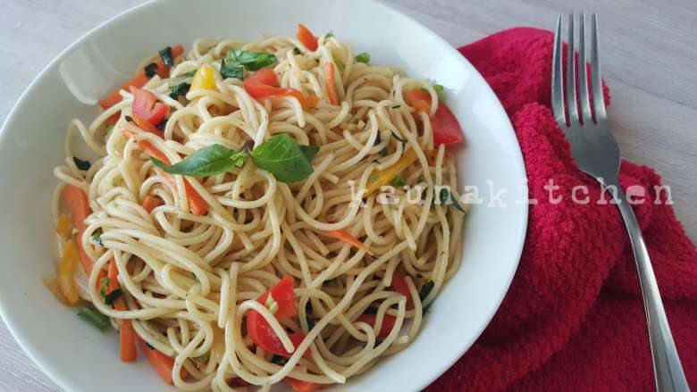 Stirfry Peppersoup Spaghetti