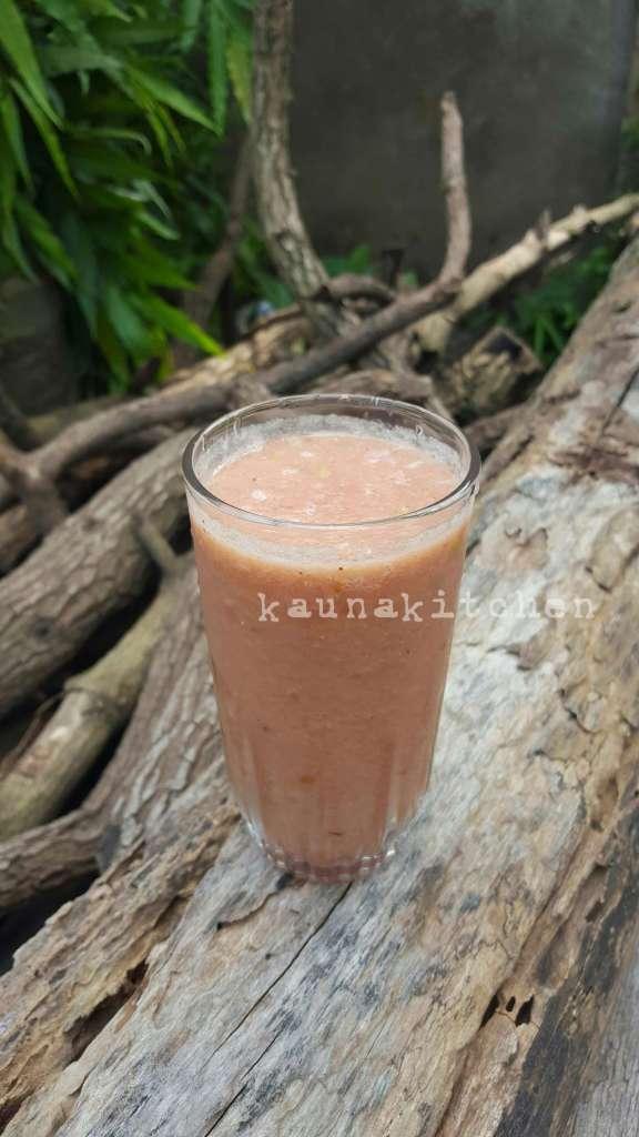 Nigerian watermelon smoothie