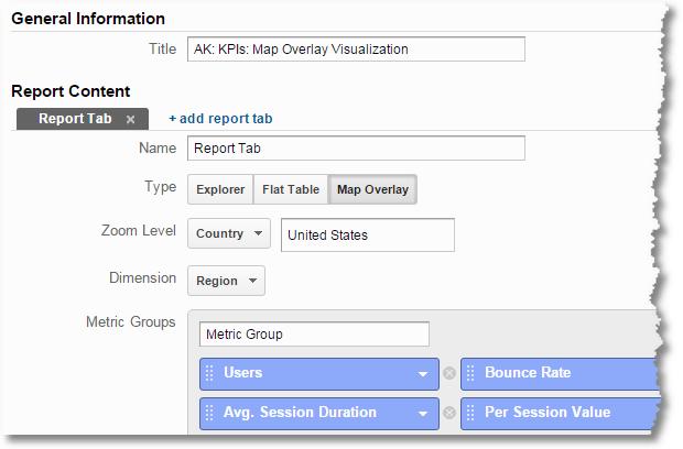 map overlay custom reports