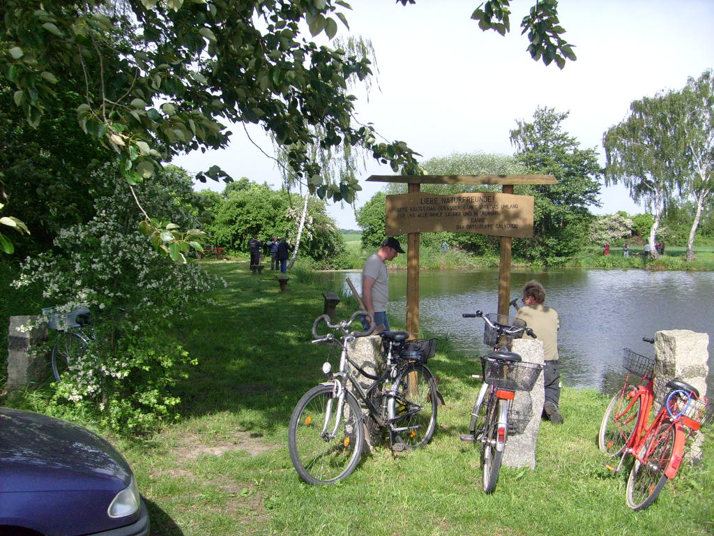 Arbeitseinsatz am Wegenstedter Teich