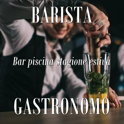 Barista Gastronomo