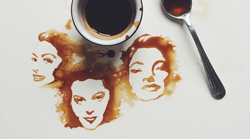 Festmények kávéból - Giulia Bernardelli