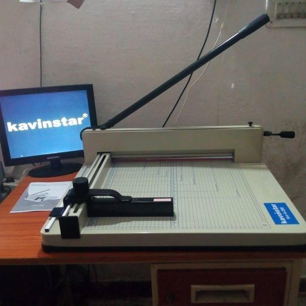 Kavinstar KVR-A200 Manual Paper Cutting Machine (Cutting Capacity - 350 sheets/70gsm)