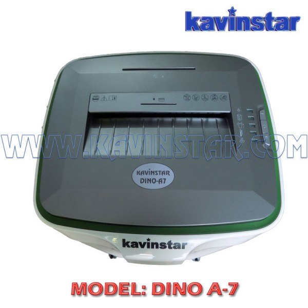 Kavinstar DINO A7 High Security Paper Shredder Machine Shred Upto 15-17 Sheets (70gsm) with Separate Slot for CD, Cr. Card (Noiseless)