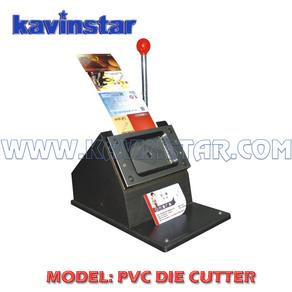 pvc id card cutter machine