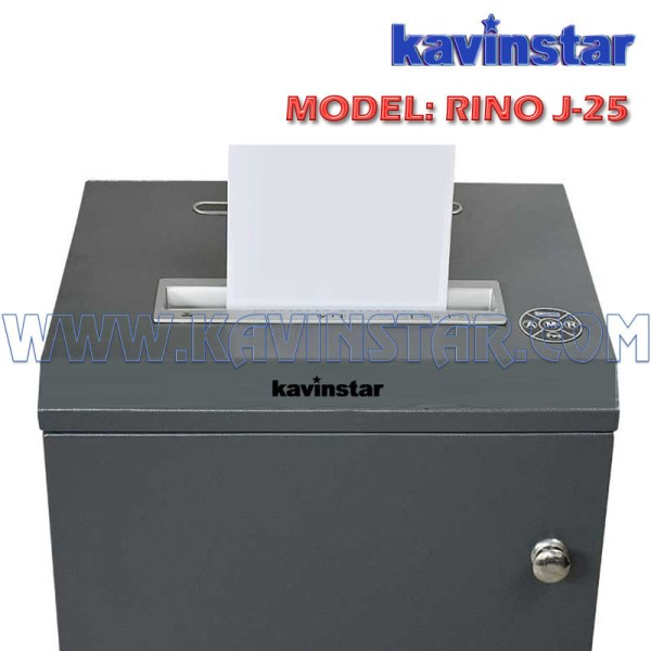 Kavinstar RINO J25 Heavy Duty Paper Shredder Machine Shred Upto 20-25 Sheets at at time