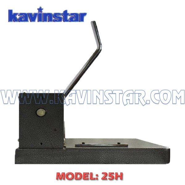 Kavinstar 25H Heavy Duty Spiral Binding Machine FS/Legal Size with 20-25 Sheets (70gsm) Punching Capacity