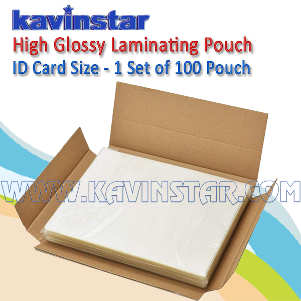 Laminating Pouch ID Card Size 125 Micron