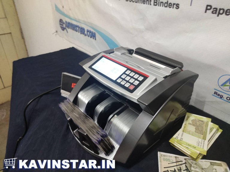 OLC PRIME MONEY COUNTING MACHINE WITH FAKE NOTE DETECTOR