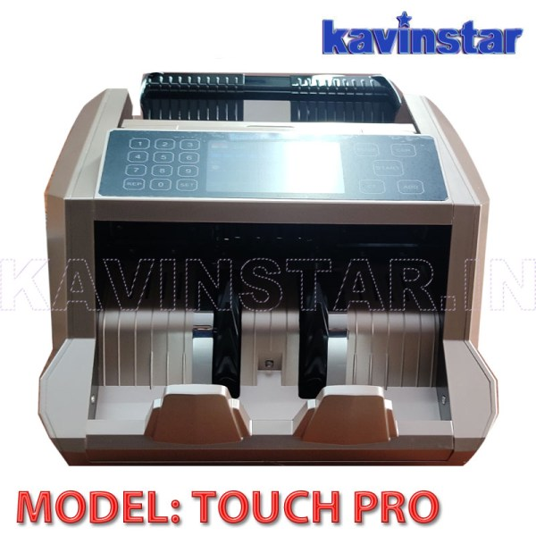 Kavinstar TOUCH PRO – Mix Note Value Counting Machine with Fake Note Detector