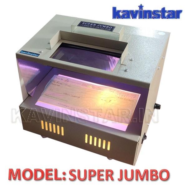 Super Jumbo Fake Currency Detector