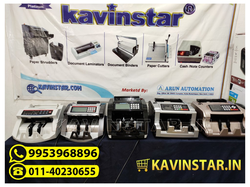 Money Counting Machine Price in India