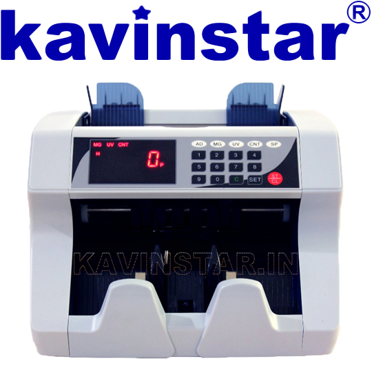heavy duty cash counting machine with fake note detector