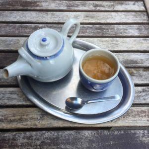 Mamacoffee v Londýnské - jasmínový čaj
