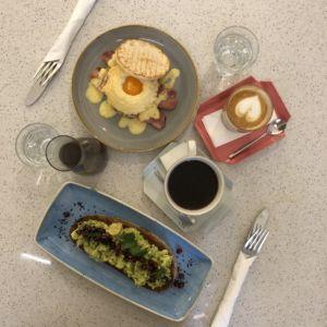 Pauseterie - snídaně