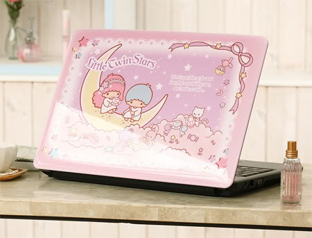 Little Twin Stars laptop