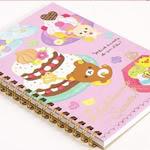 Rilakkuma sweets notebook