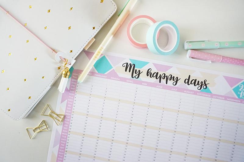 Kawaii Calendar 2018