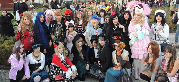 Harajuku Fashion Walk - Lucca 2014