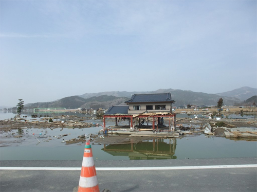 Tsunami Damage in Northern Japan