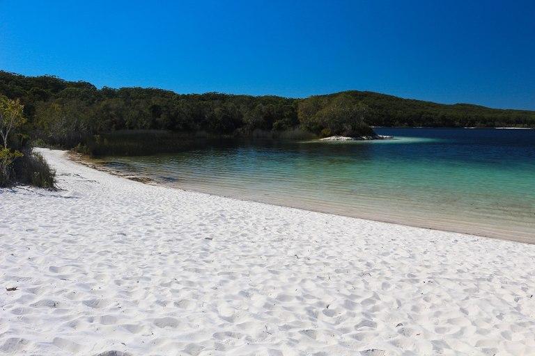 Plaża ijezioro