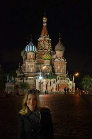 Foto da Praça Vermelha na Rússia