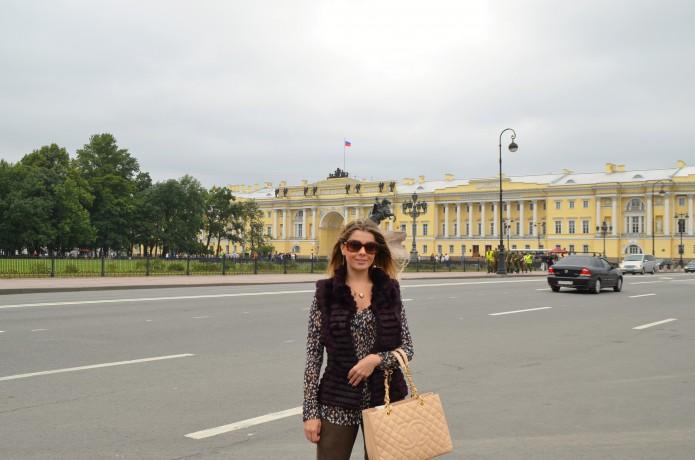 Praça dos Dezembristas St. Petersburgo