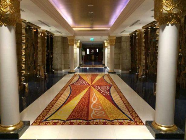 Hall de luxo em Dubai