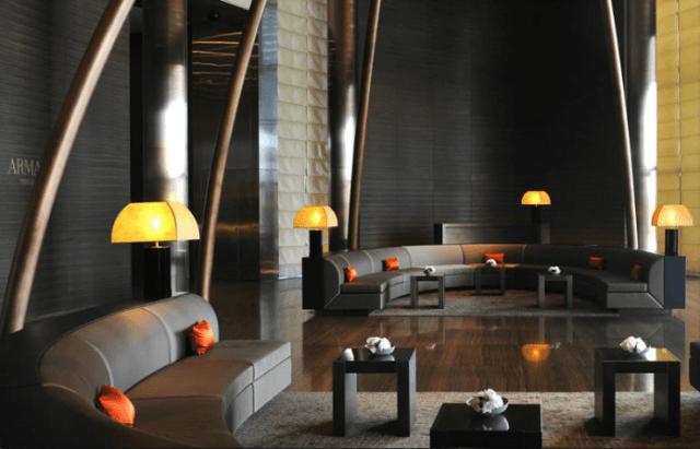 Hotel de luxo em Dubai