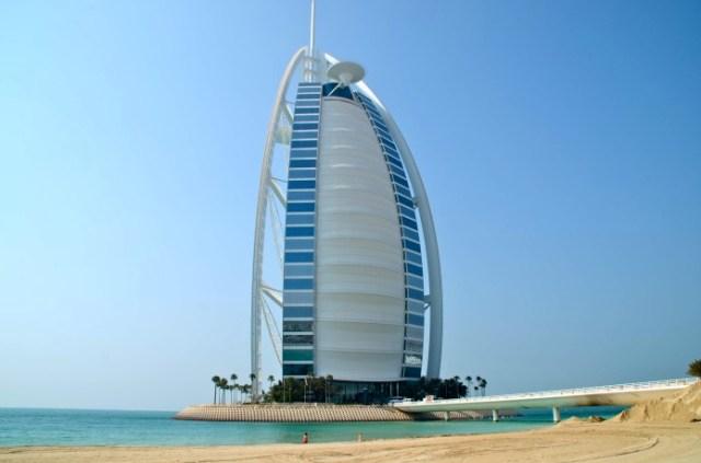 Hotel mais famoso de Dubai