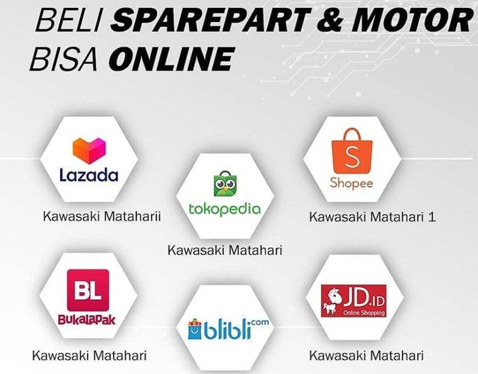 Jual Sparepart Original Kawasaki Terlengkap