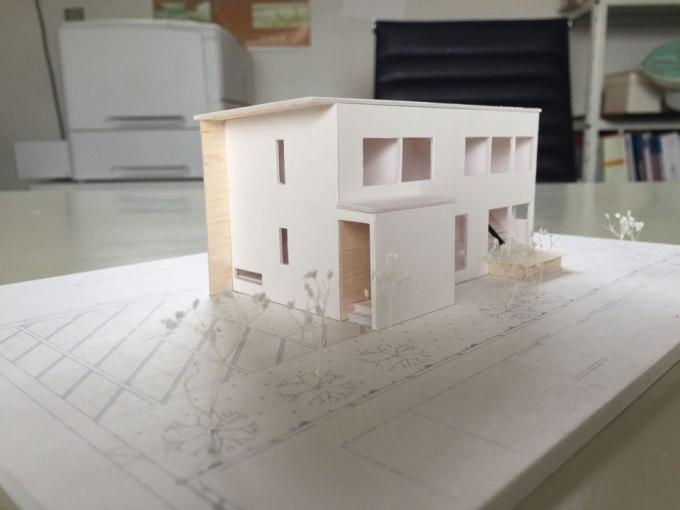 住宅のプレゼンテーション 模型 小松市