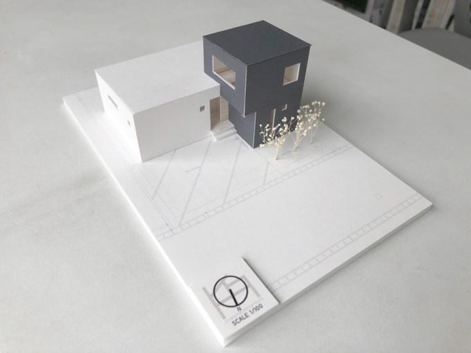 L型のデザイン住宅