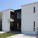 デザイン住宅のモデルハウス-竣工