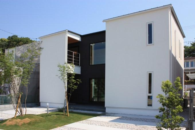 デザイン住宅のモデルハウス