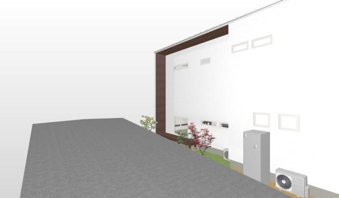 モデルハウスの外観イメージ