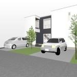 デザイン住宅のモデルハウス-設計プレゼン