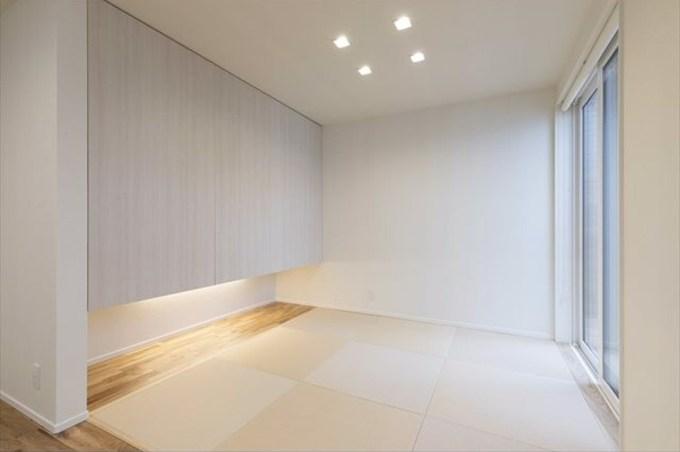 ライトコートテラスの和室スペース