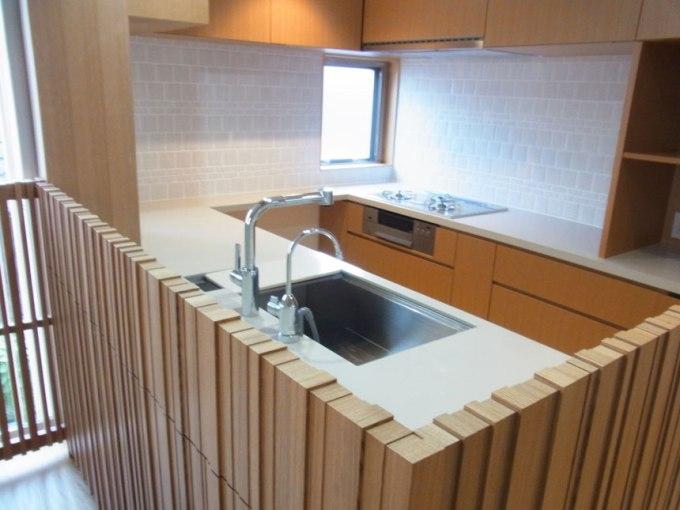 高輪の家 キッチン