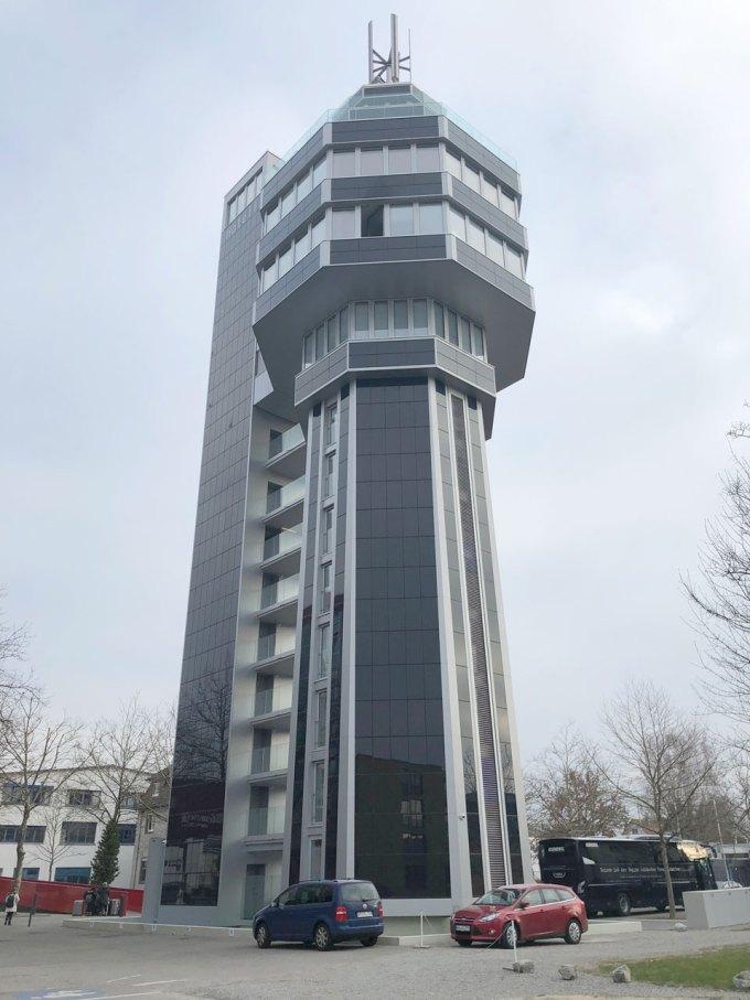 ホテルりのベーション 水の塔