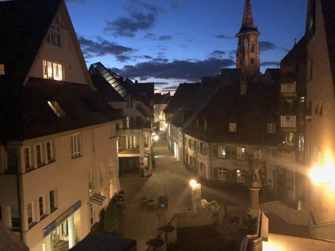フライブルクの夜景