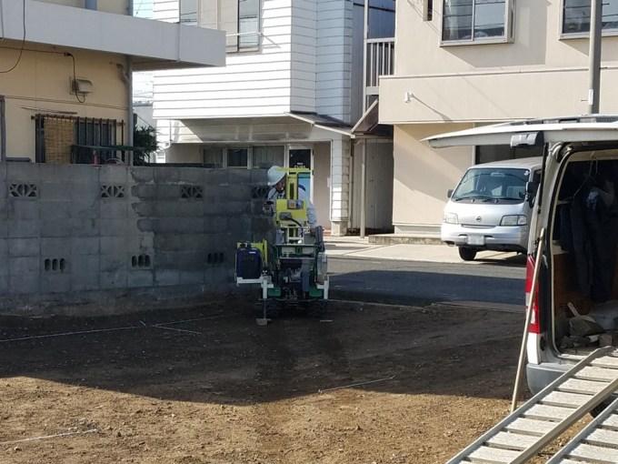 香川県高松の家の地盤調査