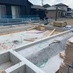 土台敷・剛床施工-高松市仏生山の家