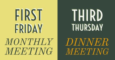 Plan Ahead- Here's how we set our meeting dates